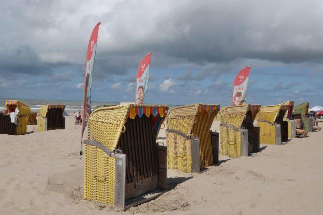 Egmond aan Zee: Fotos vom entspannten Strand-Nachmittag