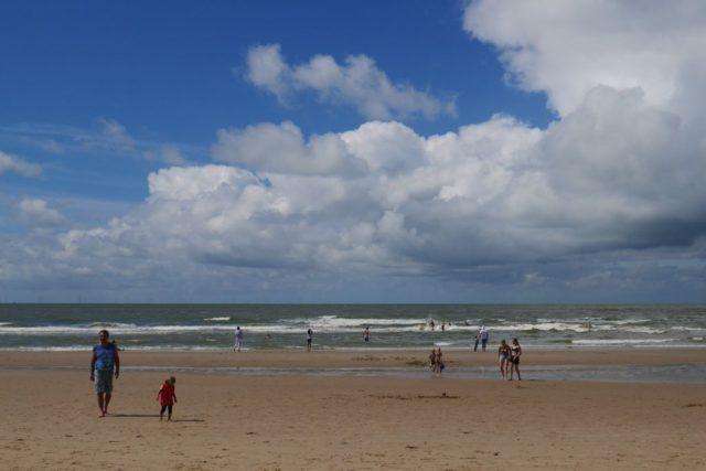 Egmond aan Zee Strand Wolken