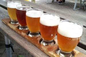 Brauerei't IJ Amsterdam Proefbord