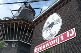 Brouwerij't Ij Amsterdam Schild