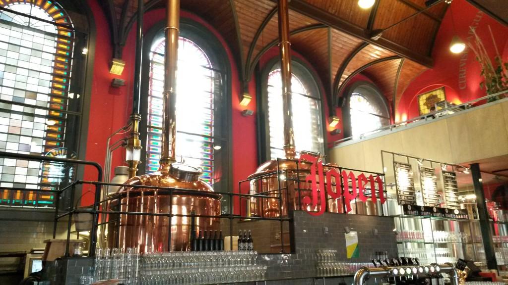 Jopenkerk Haarlem innen