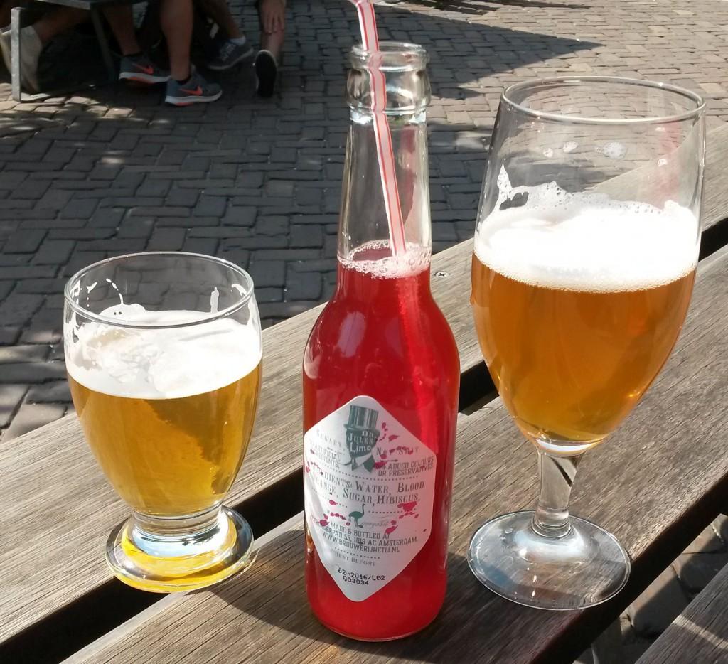 Brauerei Amsterdam Limo und Biere