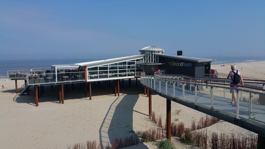 Foto Ameland: Strandpavillon