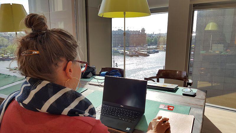 oba Amsterdam Bibliothek arbeiten