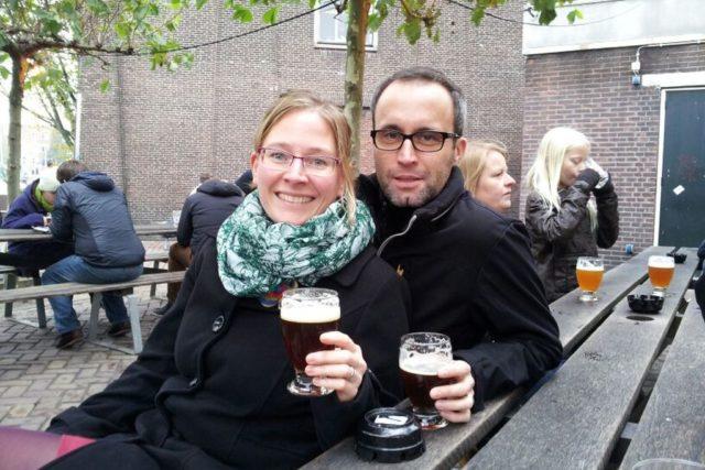 Brauerei Amsterdam Portrait Biergarten