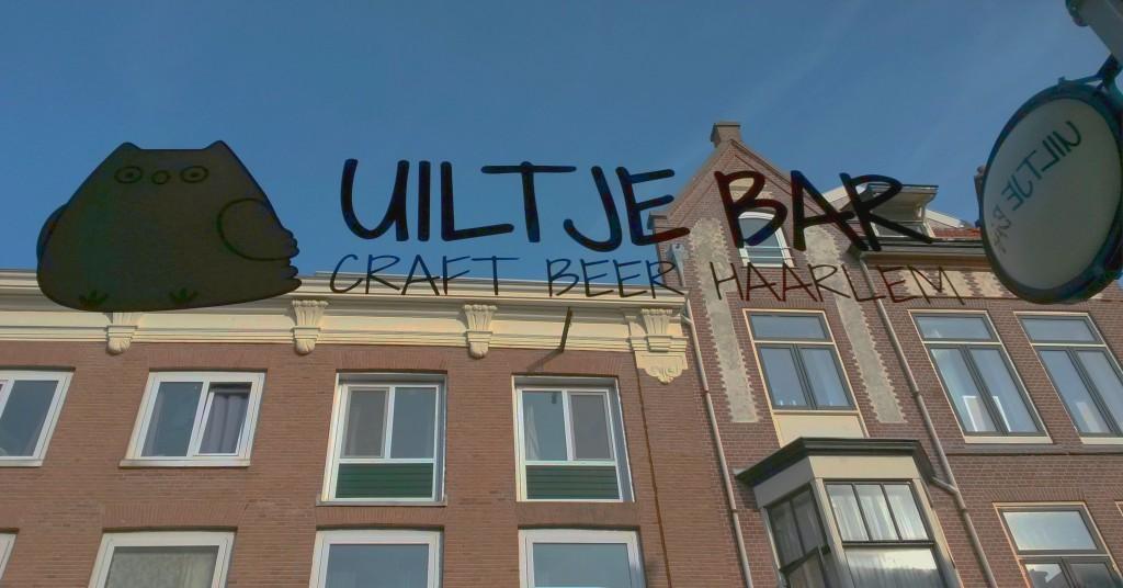 Uiltje Bar Haarlem Logo Fenster