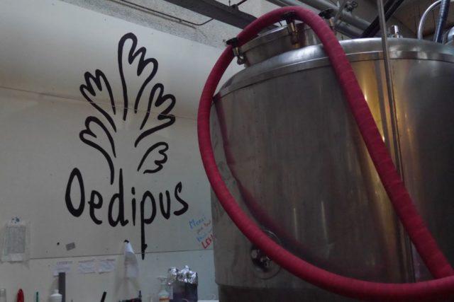 Oedipus Logo Lagertank