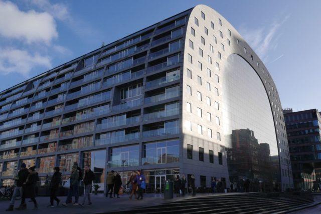 Rotterdam Markthalle außen