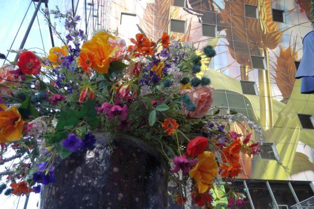 Markthalle Rotterdam Blumen