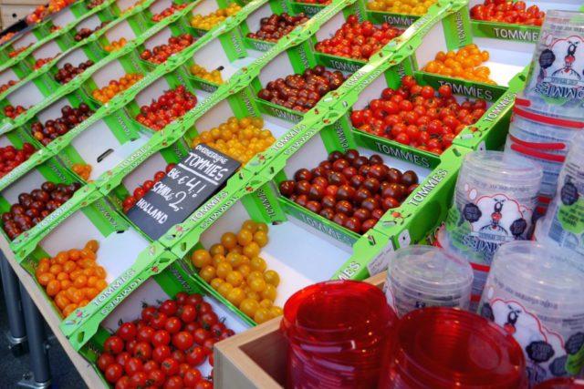 Markthalle Rotterdam Tomaten