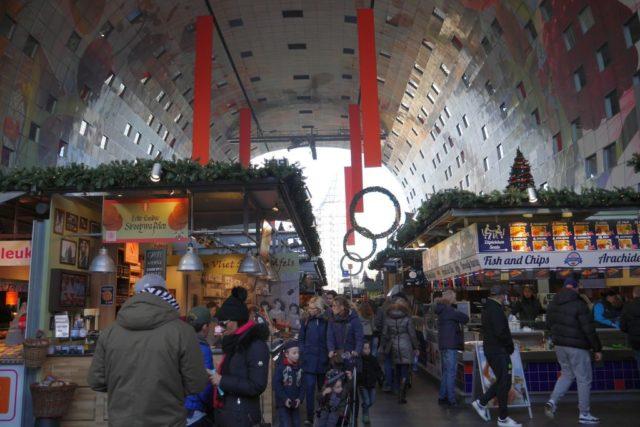 Markthalle Rotterdam Blick innen