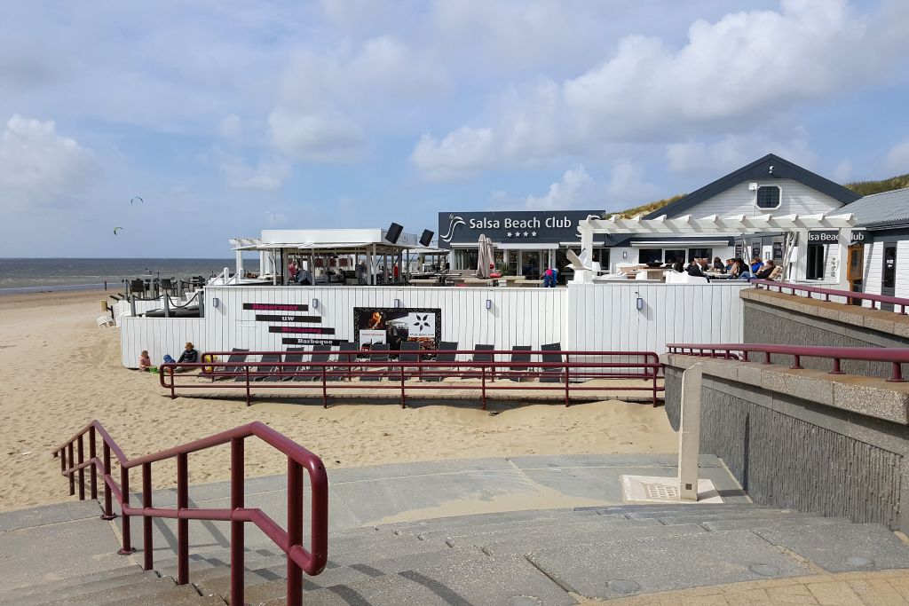 Rockanje Strand Südholland Strandcafe