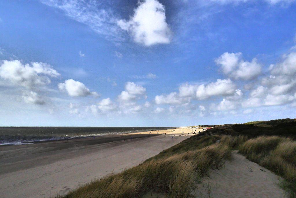 Rockanje Strand Südholland Wolken