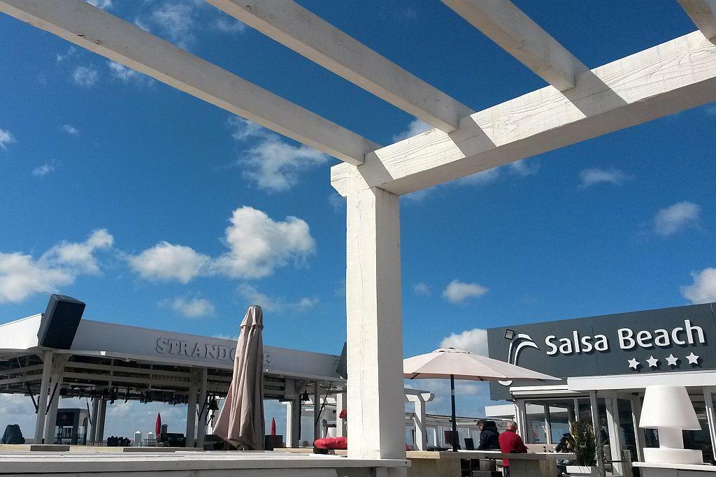 Salsa Beach Club Rockanje Terrasse