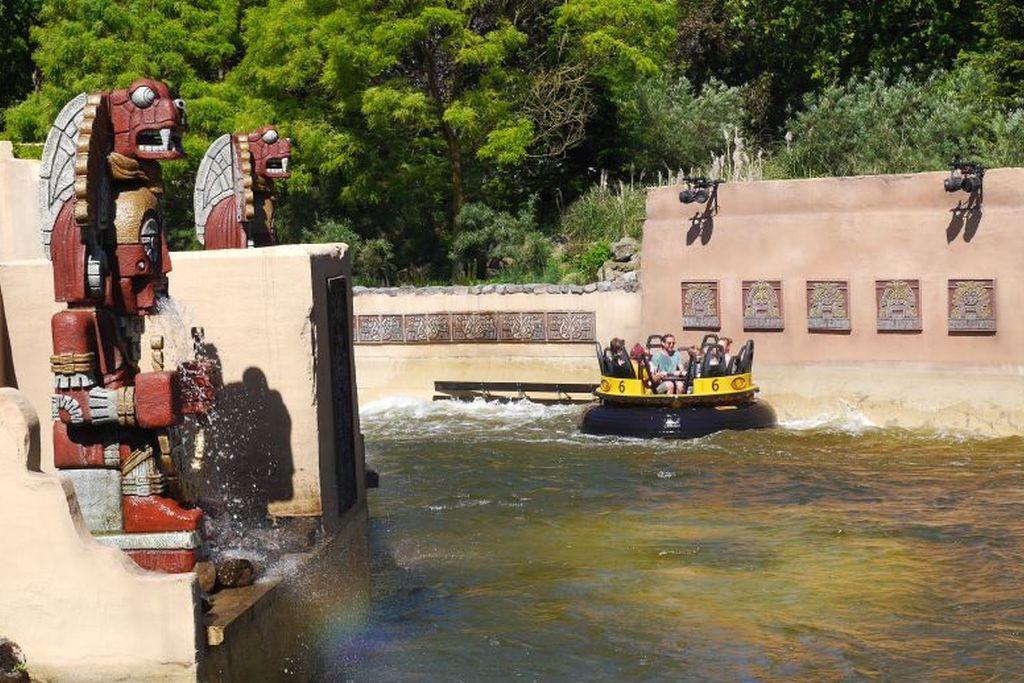 Efteling Piranha Wildwasserbahn