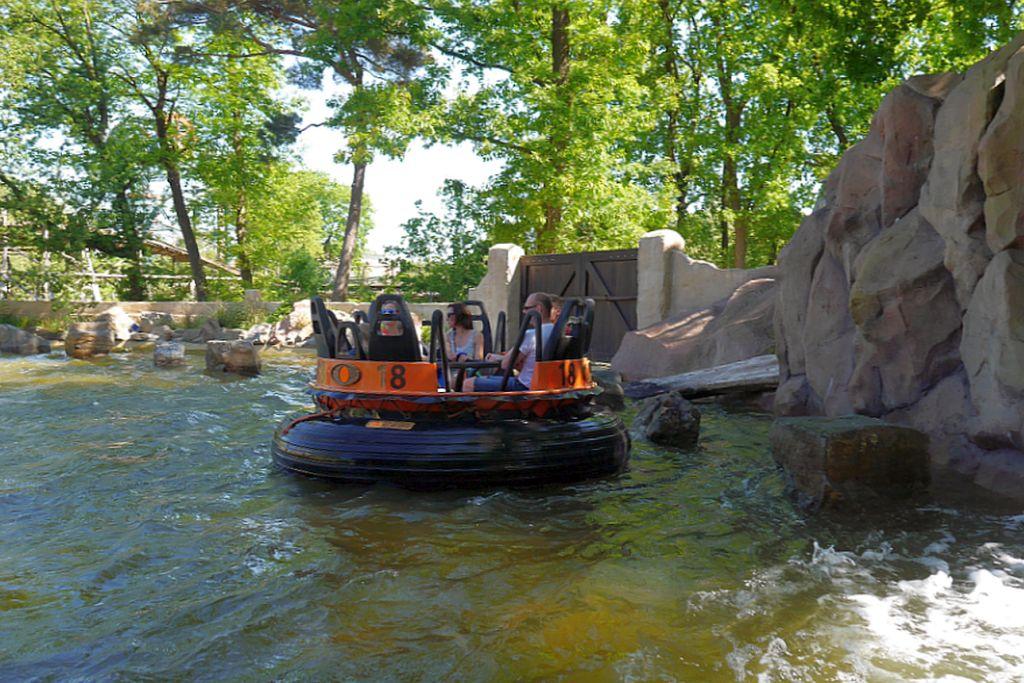Efteling Wildwasserbahn Piranha