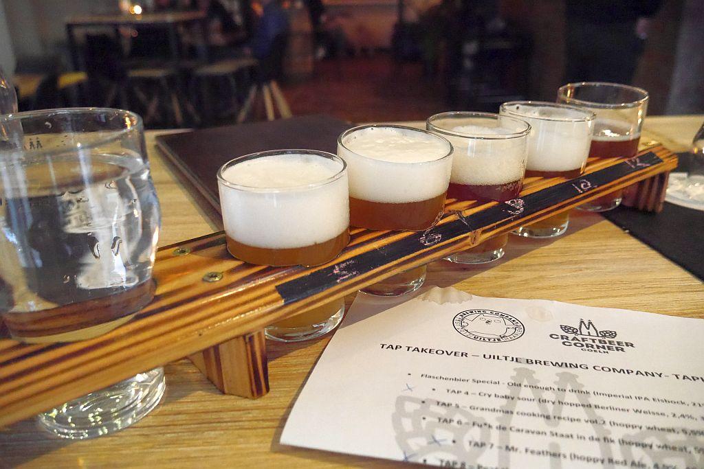 Tasting und Tap Takeover im Craftbeer Corner Coeln: Uiltje Brewing Company