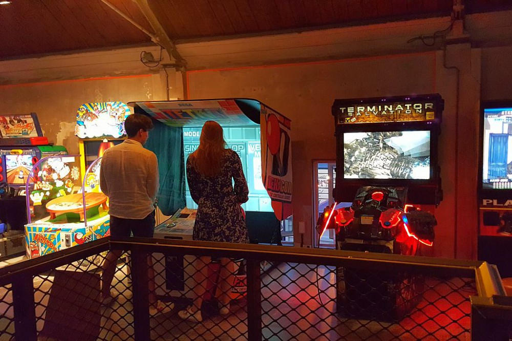 Spielautomaten Gäste Amsterdam TonTon Club