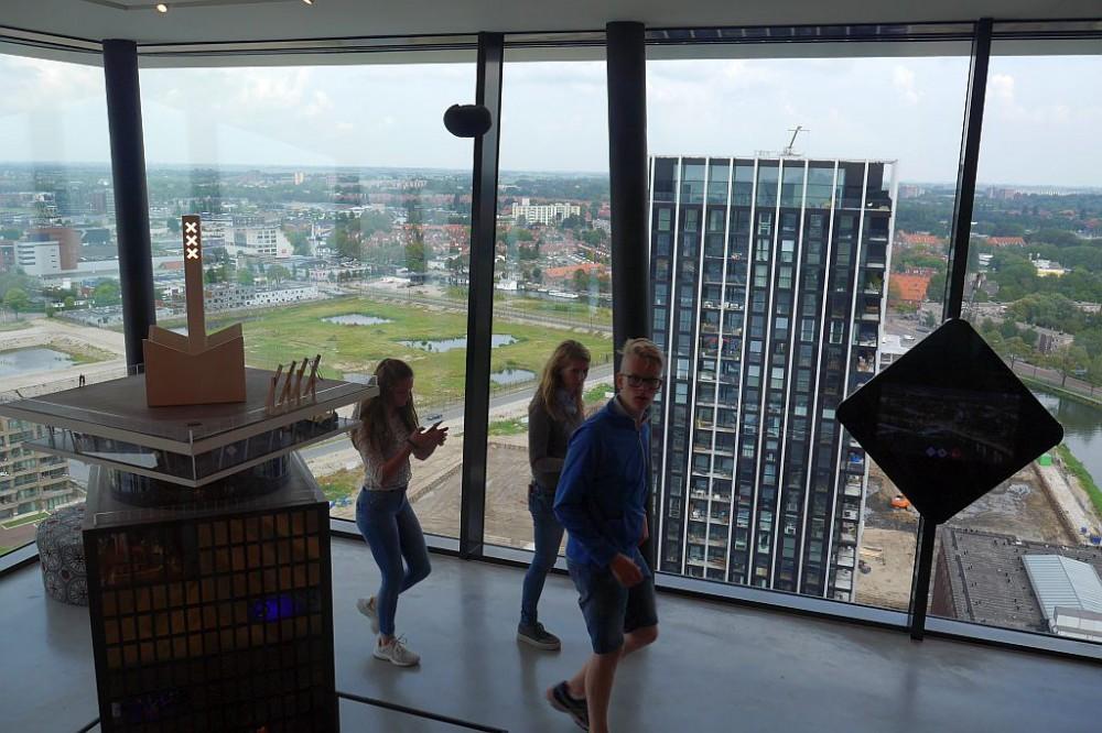 Amsterdam Modell Ausstellung innen