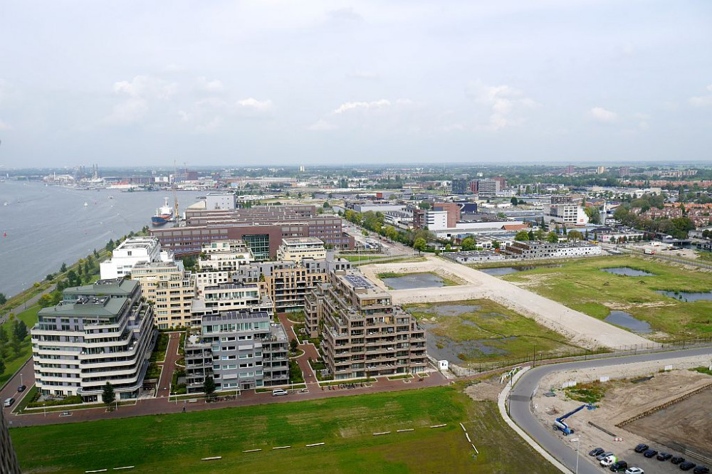 Amsterdam Lookout Ostblick