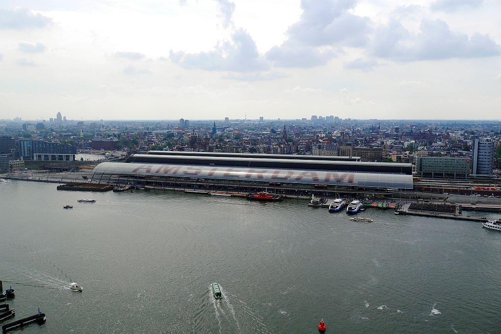 Bahnhofsblick Amsterdam Lookout