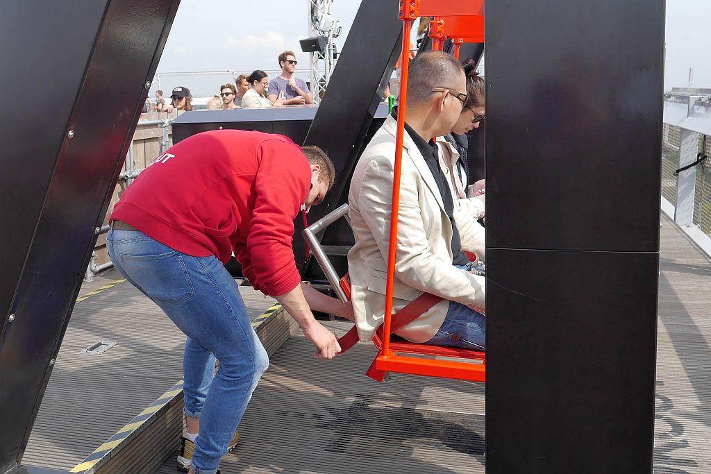 Amsterdam Lookout Schaukel Sicherung