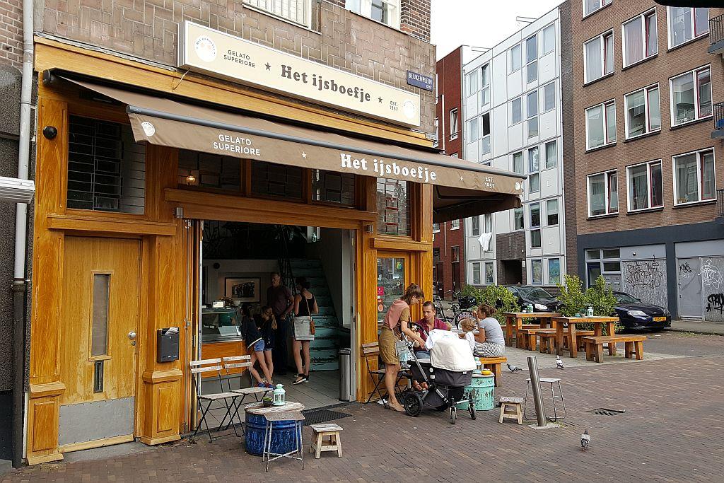 Het IJsboefje Amsterdam außen