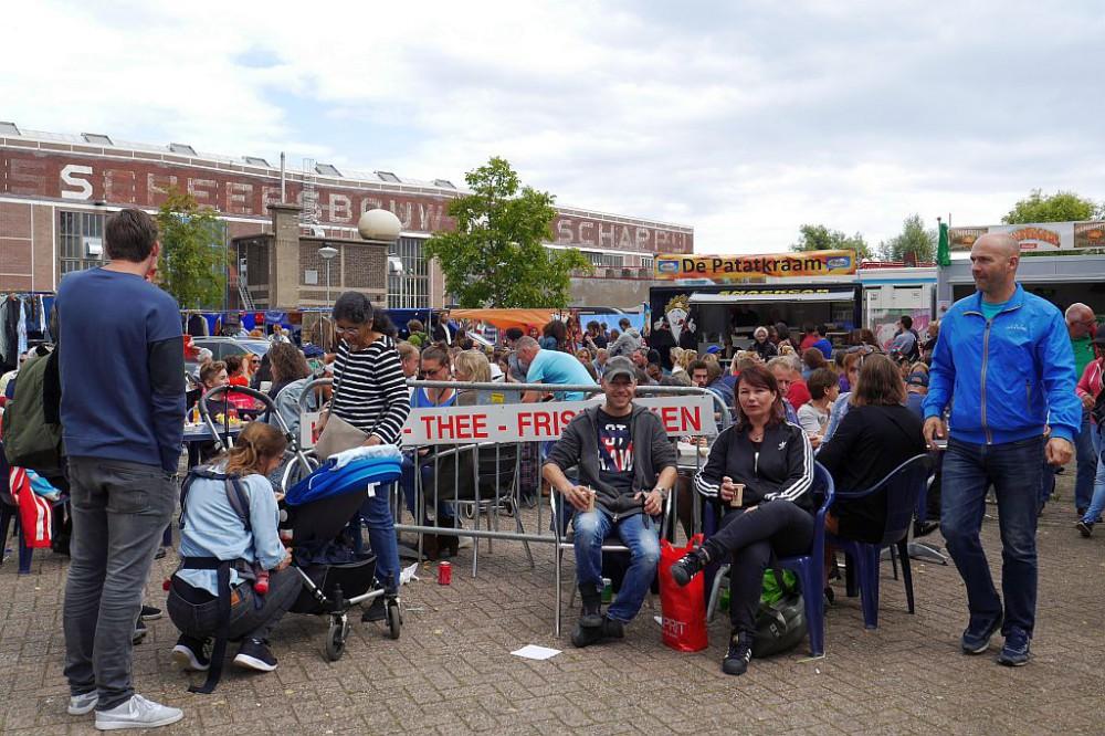 Flohmarkt IJHallen Amsterdam Pause