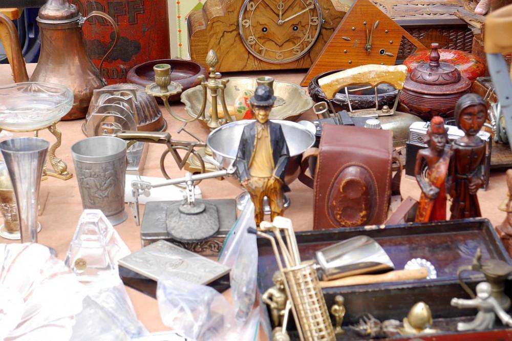 Flohmarkt IJHallen Amsterdam Figur