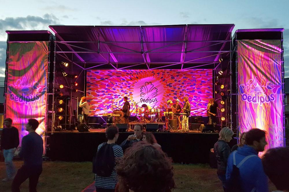 Planet Oedipus 2017 Festival Amsterdam Bühne