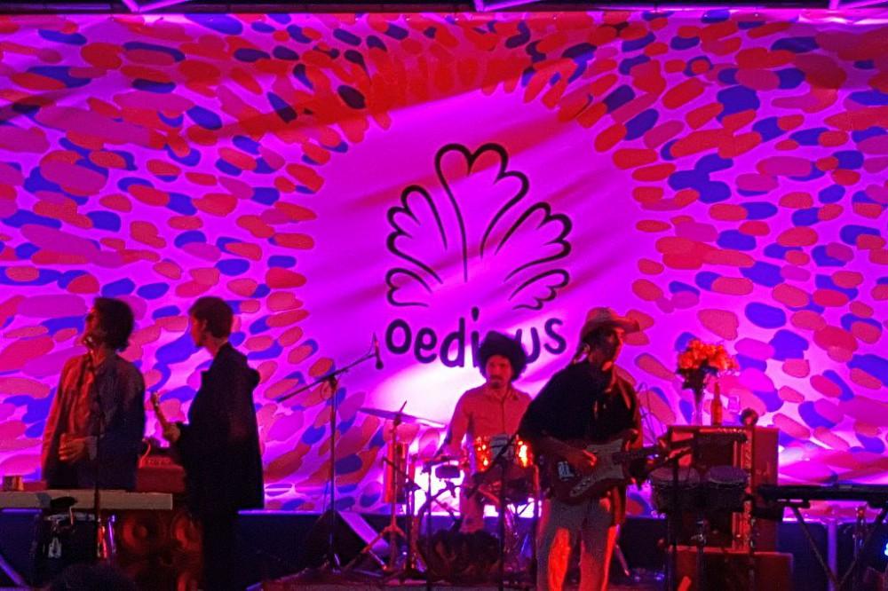 Konzert Bühne Planet Oedipus 2017 Festival Amsterdam