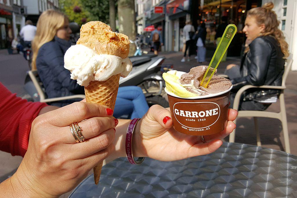Eiscreme vom Garrone Haarlem
