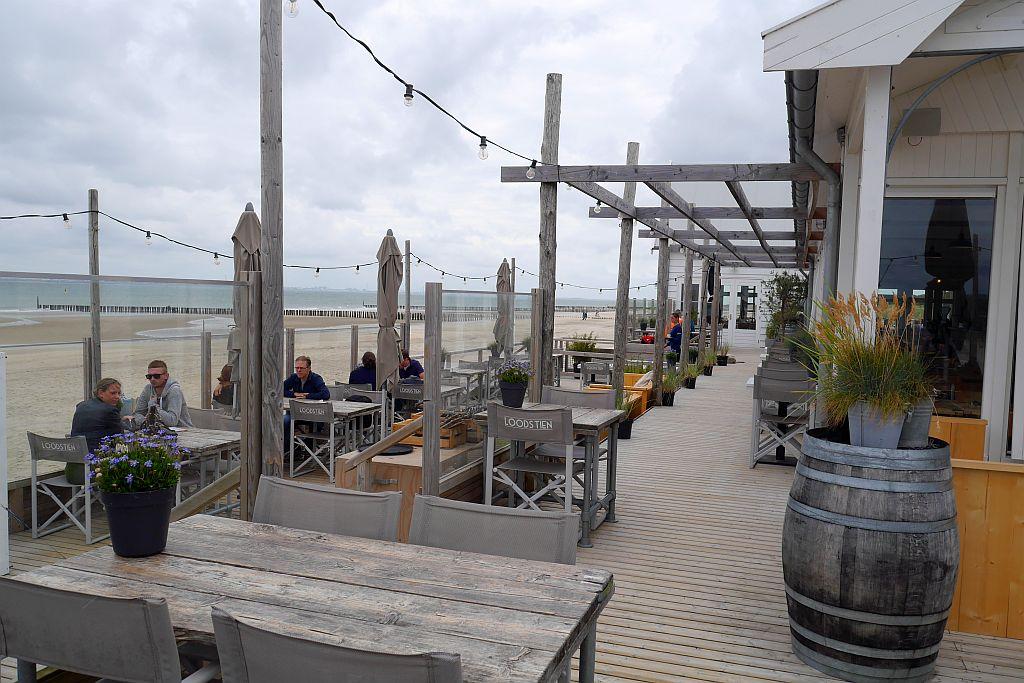 Terrasse Strandpavillon Loods Tien Breskens