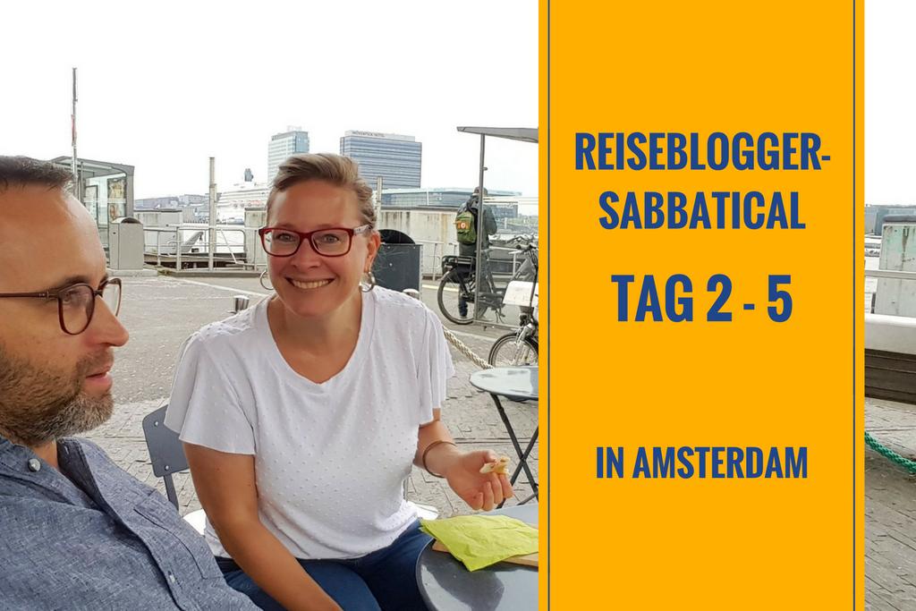 Amsterdamer Reiseblogger-Sabbatical – Tag 2 – 5: Eistest, Parkplatzglück & wilde Kroketten