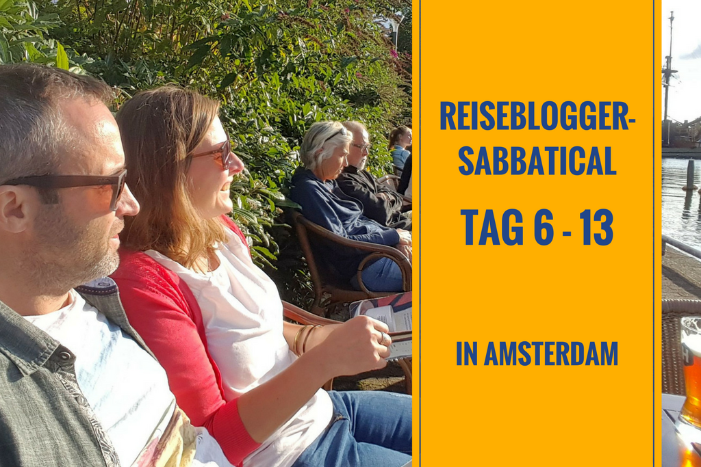 Sabbatical in Amsterdam Tag 6 – 13: Flamingo-Jacke, Planet Oedipus & Schaukeln am Limit