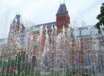 Springbrungen vor Rijksmuseum Amsterdam