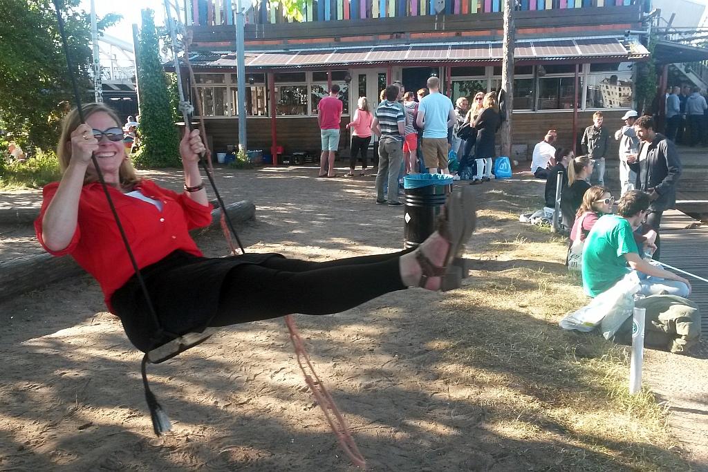 Amsterdam Hannekes Boom Schaukel Stefanie