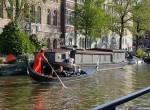 Gondel Gracht Amsterdam