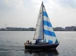 Segler Amsterdam Hafen