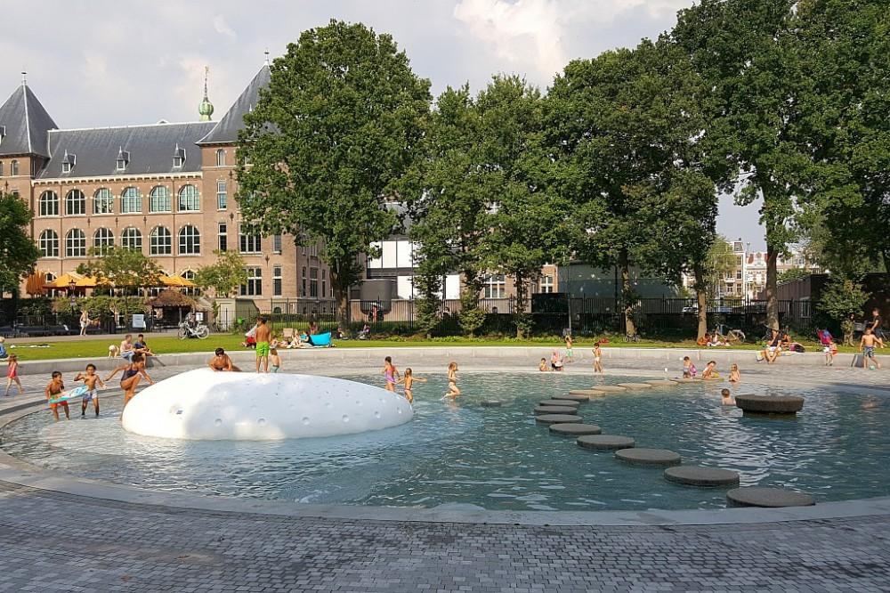 Oosterpark Amsterdam Kinderschwimmbecken
