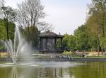 Springbrunnen Oosterpark Pavillon Amsterdam