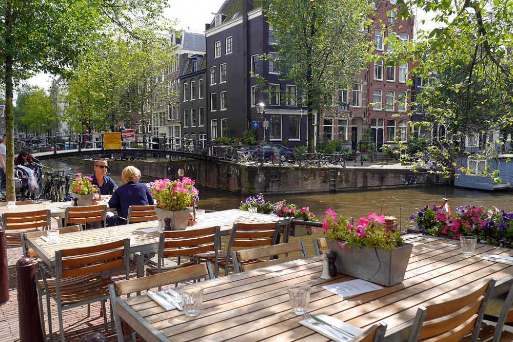 Tische Restaurant Amsterdam Gracht