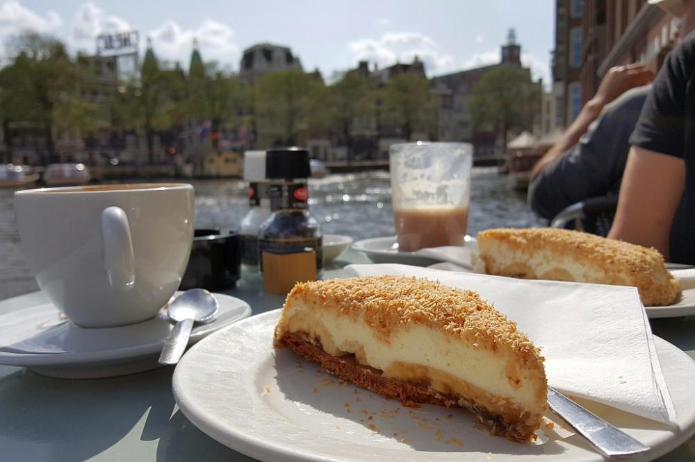 Kuchen Kaffee Amsterdam Cafe de Jaren