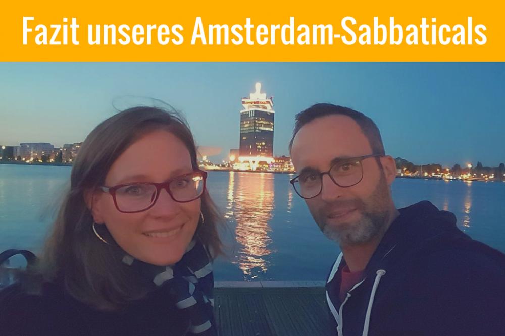 Amsterdam Sabbatical Fazit
