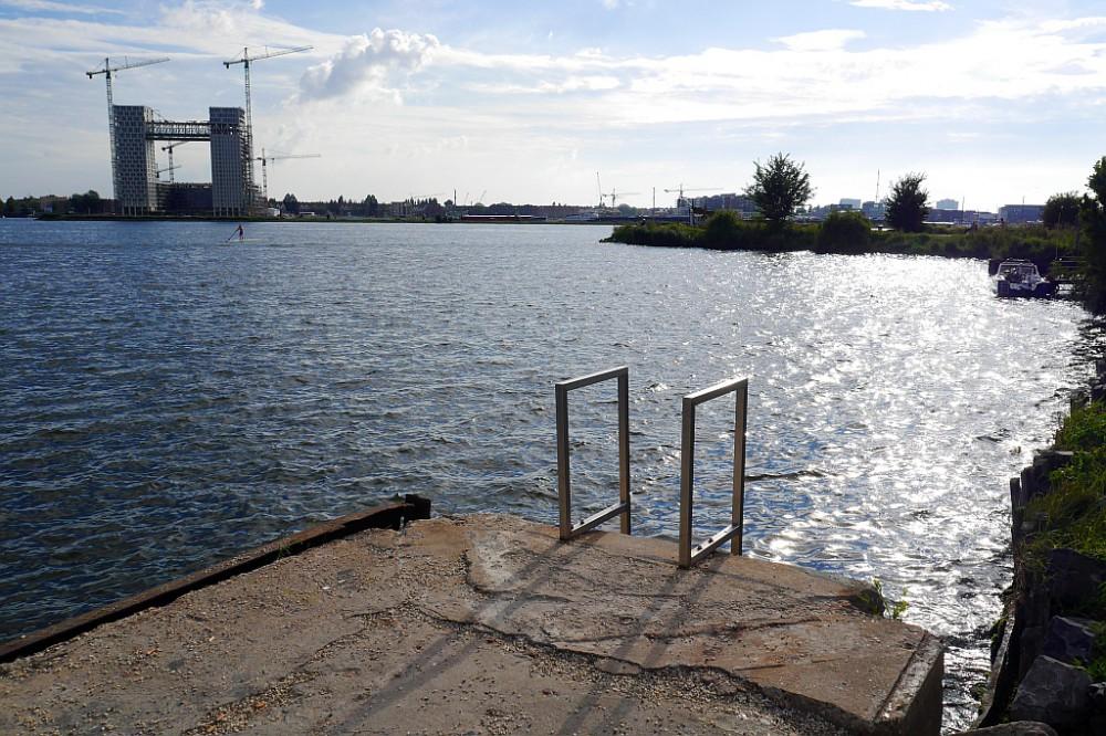Leiter Wasser Pllek Amsterdam Nord
