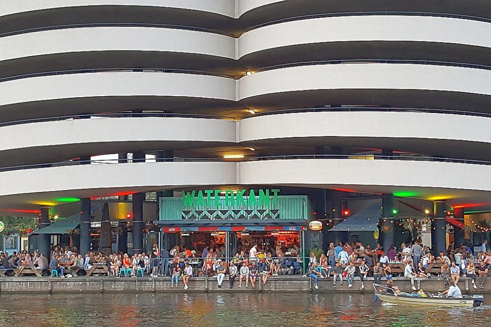 Waterkant Stadtstrand Amsterdam