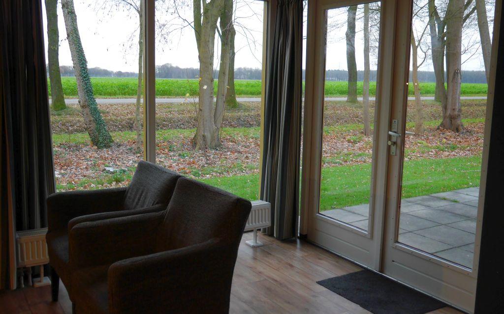 Wohnzimmerfenster Landal Landgoed Aerwinkel