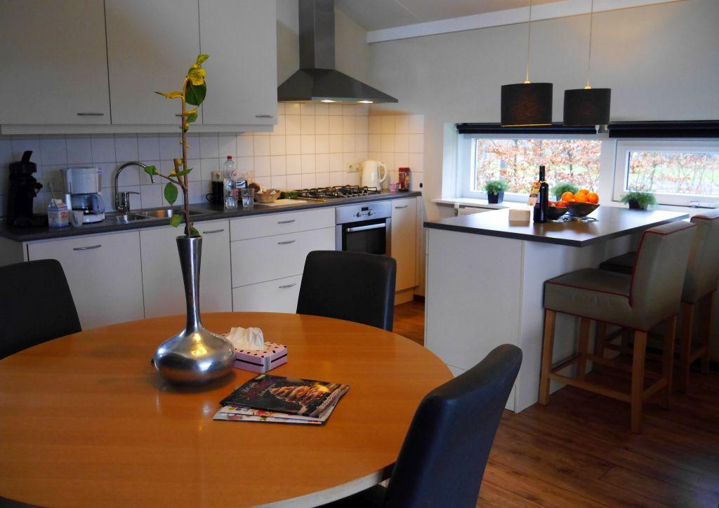 Landal Landgoed Aerwinkel Küche mit Esstisch