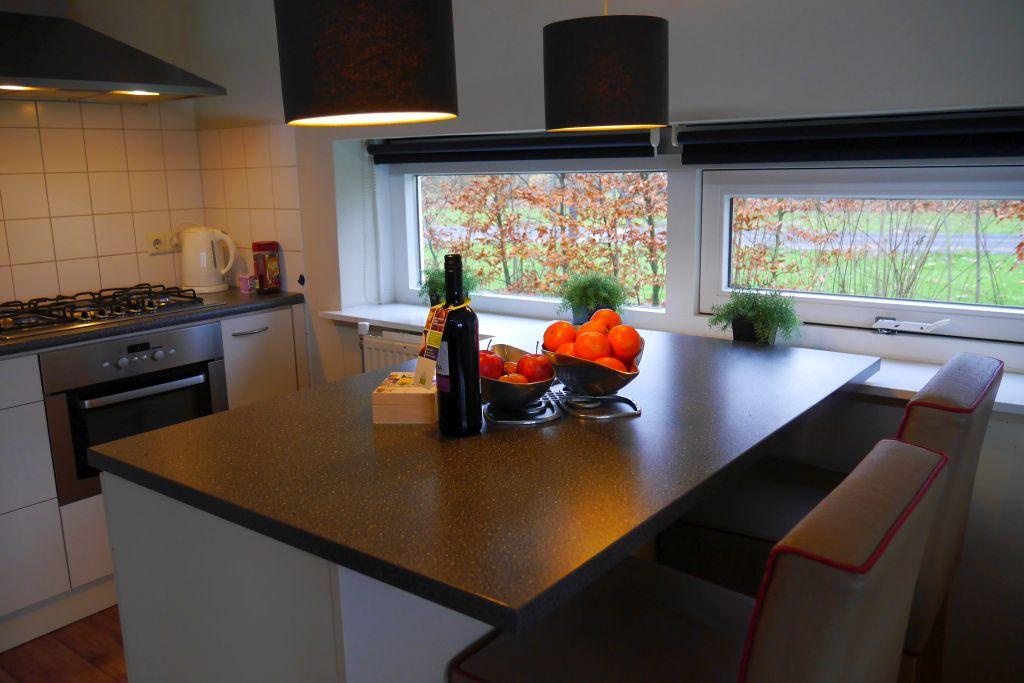 Landgoed Aerwinkel Ferienwohnung 4BL Luxus Küchenblock