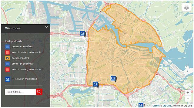 Niedrigemissionszone Amsterdam